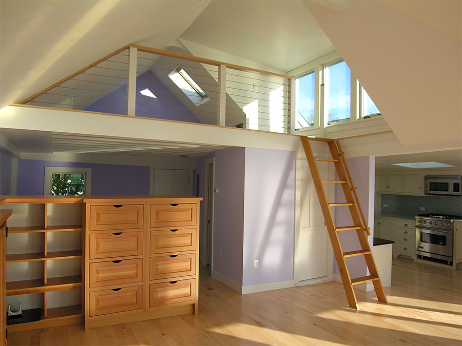 tiny attic bedroom ideas - Deborah Paine Cape Cod Custom Home Builder and